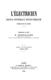 L'Electricien: Volume14