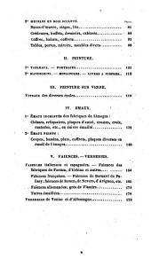 Catalogue et description des objets d'art de l'antiquité, du moyen-âge et de la renaissance, exposés au Musée