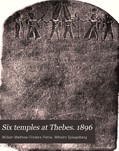 Six Temples at Thebes: 1896