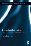 The Design of the University