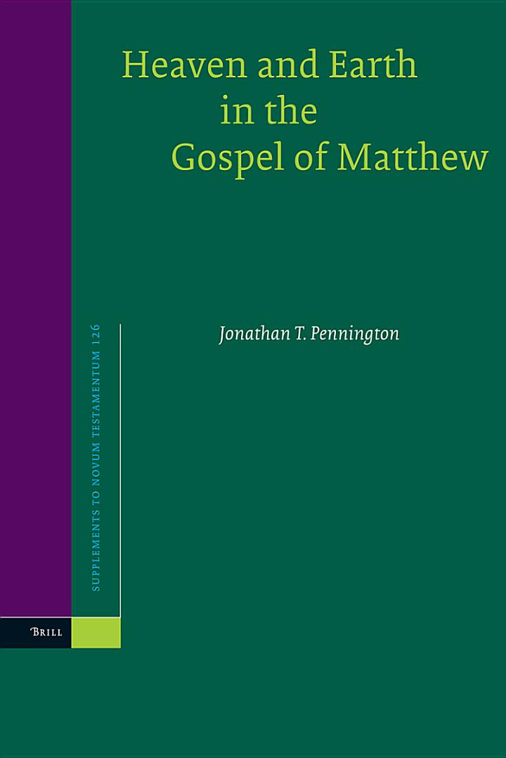 Heaven and Earth in the Gospel of Matthew