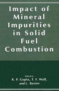 Impact of Mineral Impurities in Solid Fuel Combustion