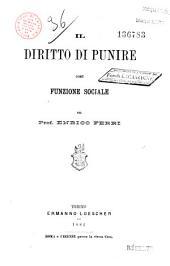 Diritto di punire, funzione sociale