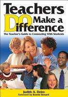 Teachers DO Make a Difference PDF
