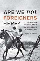Are We Not Foreigners Here  PDF