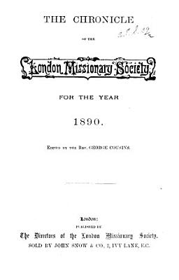 The Chronicle of the London Missionary Society PDF