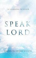 Speak Lord PDF