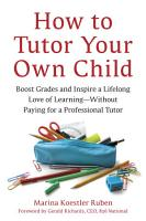 How to Tutor Your Own Child PDF