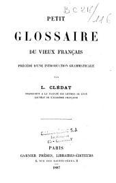 Petit glossaire du vieux français