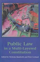 Public Law In A Multi Layered Constitution Book PDF