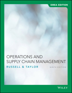 Operations and Supply Chain Management PDF