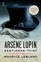 Ars  ne Lupin  Gentleman thief PDF