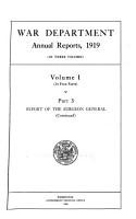 Annual Report of the Secretary of War PDF