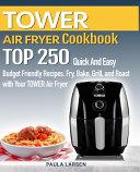 TOWER AIR FRYER Cookbook