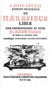 Liber de haeresibus