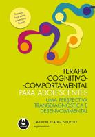 Terapia Cognitivo Comportamental para Adolescentes PDF