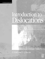 Introduction to Dislocations PDF