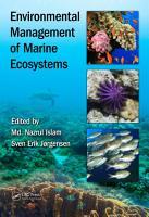 Environmental Management of Marine Ecosystems PDF