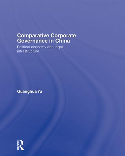 Comparative Corporate Governance in China PDF