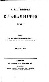 Epigrammaton Libri. Edidit D. F. G. Schneidewin: Volume 1