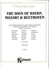 The Days of Haydn, Mozart & Beethoven: Piano Collection