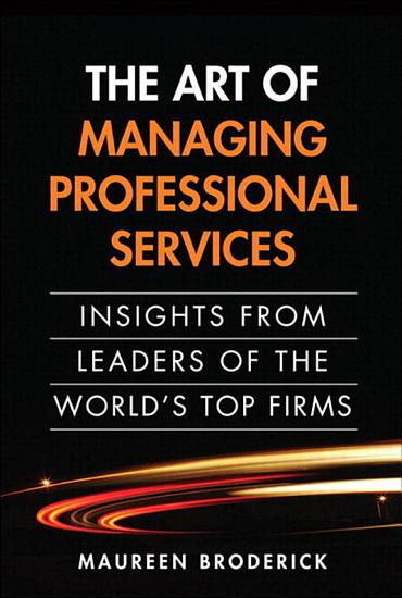 The Art of Managing Professional Services PDF