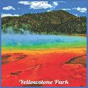 Yellowstone Park 2021 Wall Calendar