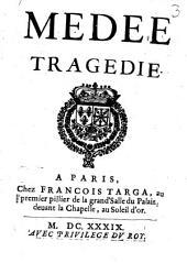 Medée: Tragédie