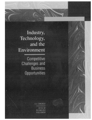 Industry, Technology And The Environment