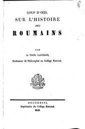 Coup d'oeil sur l'histoire des roumains