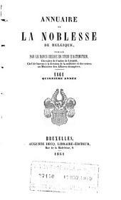 Annuaire de la noblesse de Belgique