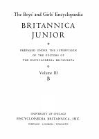 The Boys and Girls Encyclopaedia Volume III PDF