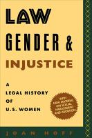 Law  Gender  and Injustice PDF