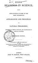 Raedings in Sciences ... in Natural Philosophy