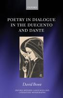 Poetry in Dialogue in the Duecento and Dante PDF