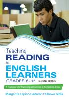 Teaching Reading to English Learners  Grades 6   12 PDF