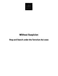 Without Suspicion PDF
