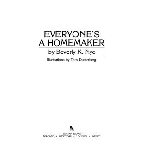 Everyone s a homemaker PDF