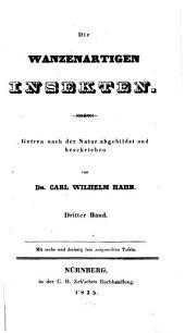 Die wanzenartigen Insecten: Band 3
