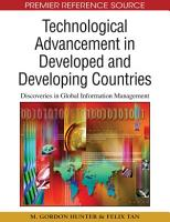 Technological Advancement in Developed and Developing Countries  Discoveries in Global Information Management PDF