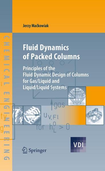 Fluid Dynamics of Packed Columns PDF