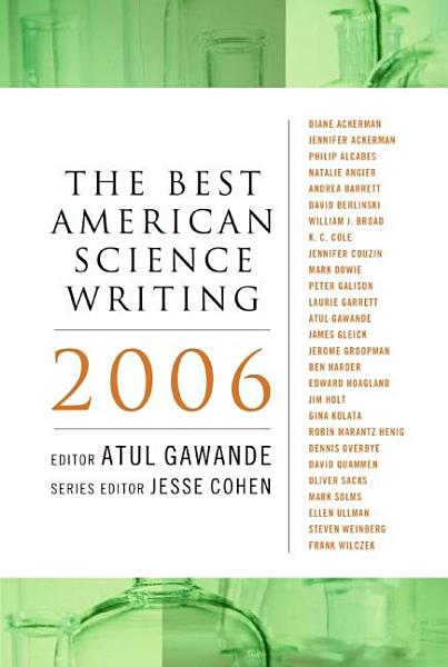Download The Best American Science Writing 2006 Book