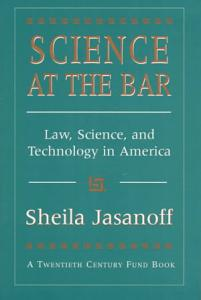 Science at the Bar Book