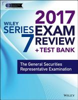 Wiley FINRA Series 7 Exam Review 2017 PDF