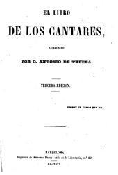 El libro de los cantares