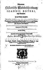 Allgemeine historische Weltbeschreibung