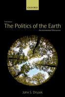 The Politics of the Earth PDF