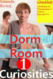 Dorm Room Curiosities 1 (Gay Bisexual Menage MMF Sex Stories)