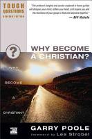 Why Become a Christian  PDF