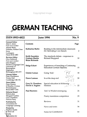 German Teaching PDF